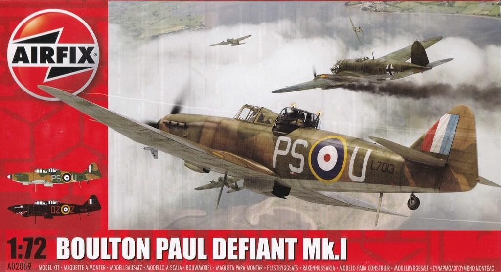 Airfix Boulton Paul Defiant Deckelbild
