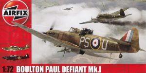 75 years BoB – the Boulton Paul Defiant (Airfix A 02069) in 72nd scale