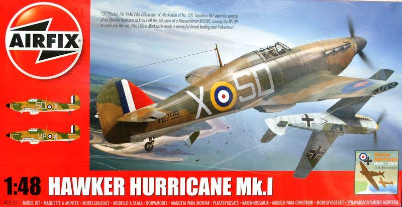 AIRFIX-A05127-Hawker-Hurricane-1zu48-5 75 Jahre Luftschlacht um England: Die Hawker Hurricane von Airfix im Maßstab 1:48