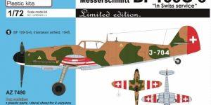 Bf 109 G Swiss Air Force von AZ Model