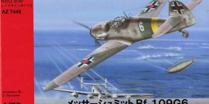 Messerschmitt Bf 109 G-6 von AZ Model im Maßstab 1:72