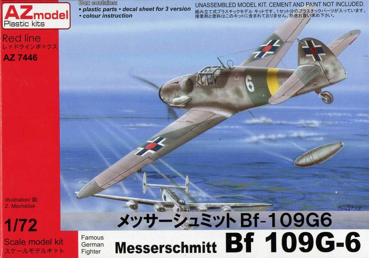 AZ-Model-Bf-109-G-6-18 Messerschmitt Bf 109 G-6 von AZ Model im Maßstab 1:72