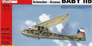 Grunau Baby IIb von AZ Model in 1:72