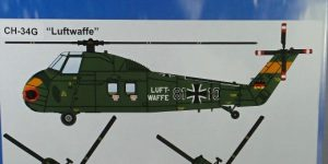 CH-34G Bundesluftwaffe von Airpower87 im HO-Maßstab 1:87