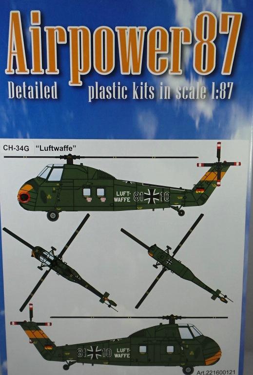 Airpower87-Ch-34-12 CH-34G Bundesluftwaffe von Airpower87 im HO-Maßstab 1:87