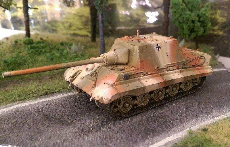 ArsenalM-Jagdtiger-1 Königstiger mit Porscheturm und Jagdtiger von ArsenalM im Maßstab 1:87