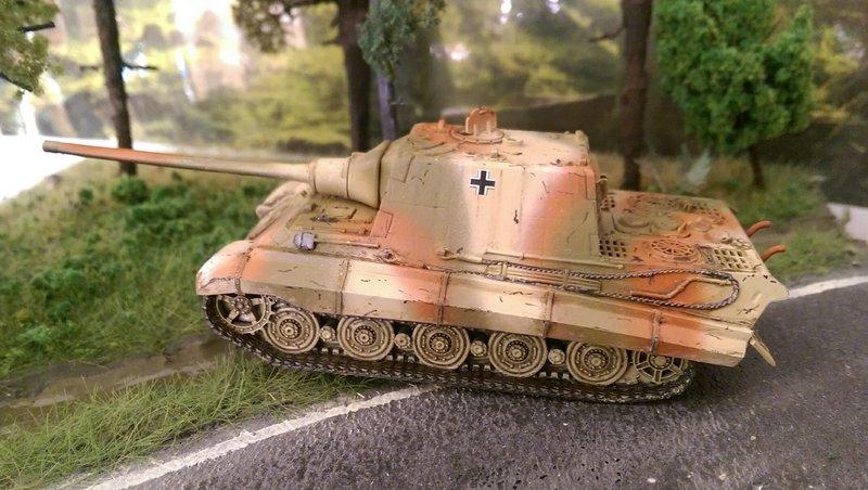 ArsenalM-Jagdtiger-2 Königstiger mit Porscheturm und Jagdtiger von ArsenalM im Maßstab 1:87