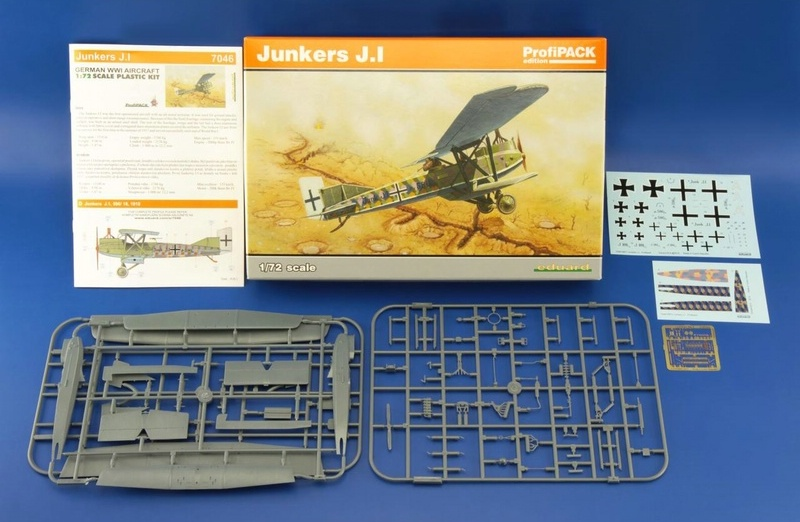 Eduard-7046-Junkers-J.1-18 Re-release of a classic kit: Junkers J.1 in 72nd scale by EDUARD (7046)