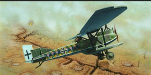 Re-release of a classic kit: Junkers J.1 in 72nd scale by EDUARD (7046)