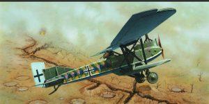 Junkers J.1 von Eduard im Maßstab 1:72 (7046)