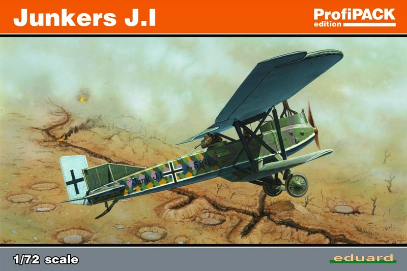 Eduard-7046-Junkers-J.1-34 Re-release of a classic kit: Junkers J.1 in 72nd scale by EDUARD (7046)