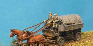 Neuheiten angekündigt: Heeresfeldwagen HF 7 im Maßstab 1:72 (Germania-Figuren)