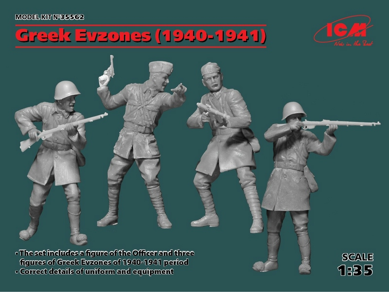 ICM-Greek-Evzones-Testshot-1 Greek Evzones 1940/41 von ICM (1:35)