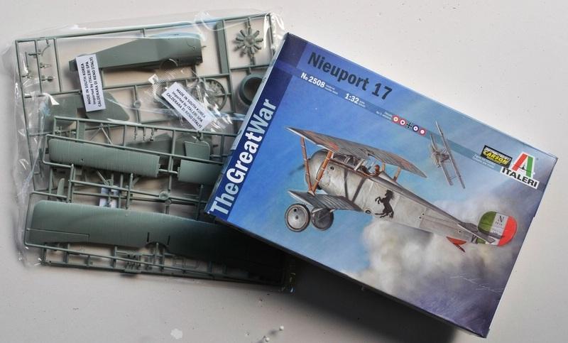 "Italeri-Nieuport-17-1zu32-18 Die ""neue"" Nieuport 17 von Italeri (1:32)"