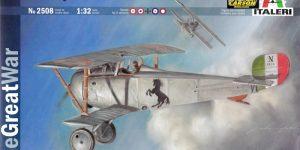 "Die ""neue"" Nieuport 17 von Italeri (1:32)"