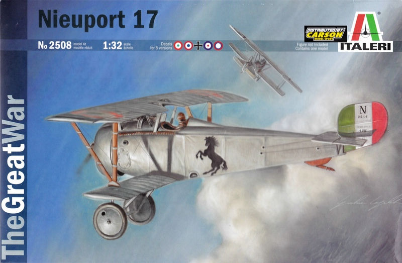 "Italeri-Nieuport-17-1zu32-Deckelbild Die ""neue"" Nieuport 17 von Italeri (1:32)"