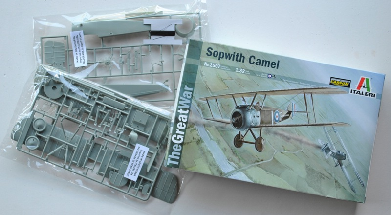 "Italeri-Sopwith-Camel-1zu32 Die ""neue"" Sopwith Camel von Italeri im Maßstab 1:32"