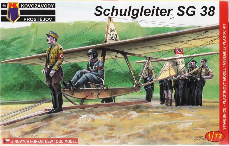 KP-0024-SG-38-6 Der Schulgleiter SG 38 von KP im Maßstab 1:72