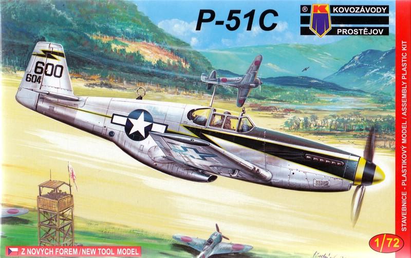 KPM-0033-P-51C-25 Eine neue Mustang im Maßstab 1:72 (Kovazávody Prostèjov KPM 0033)