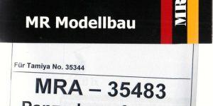 Umbauset SOMUA S35 Beutepanzer von Matthias Roth Modellbau 1:35