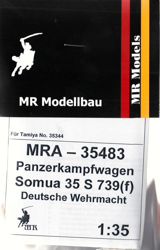 MR-35483-Somua-S.35-deutsche-Beute-8 Umbauset SOMUA S35 Beutepanzer von Matthias Roth Modellbau 1:35
