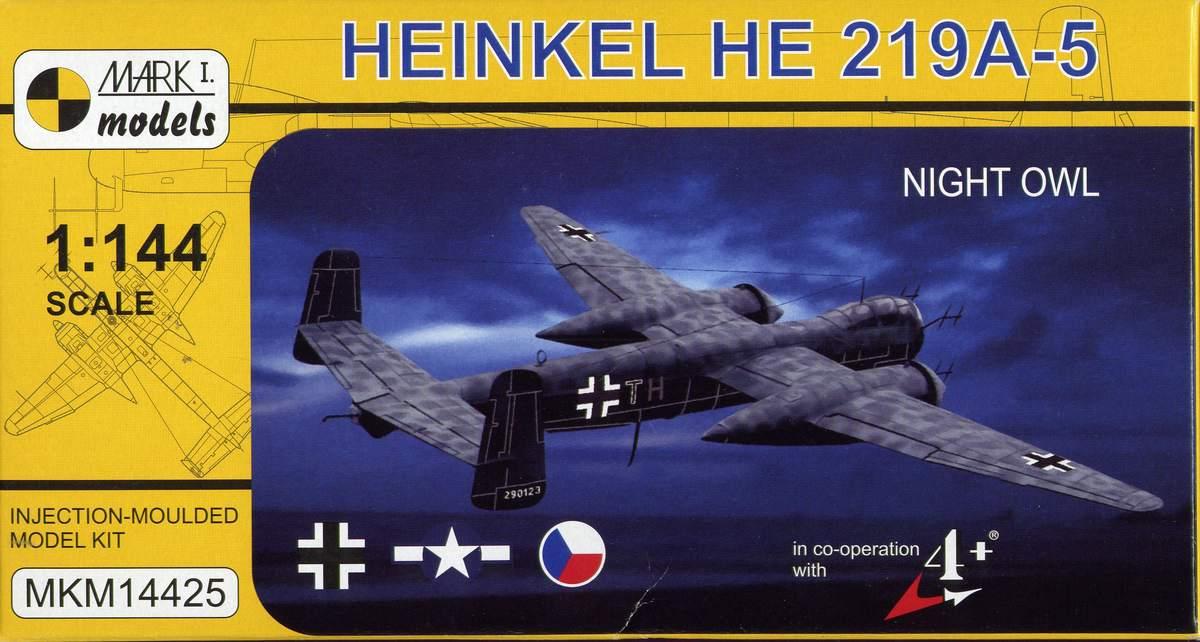 Mark-I-Models-He-219-A-5-2 Heinkel He 219 UHU von Mark I Models im Maßstab 1:144