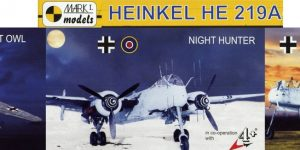 Heinkel He 219 UHU von Mark I Models im Maßstab 1:144