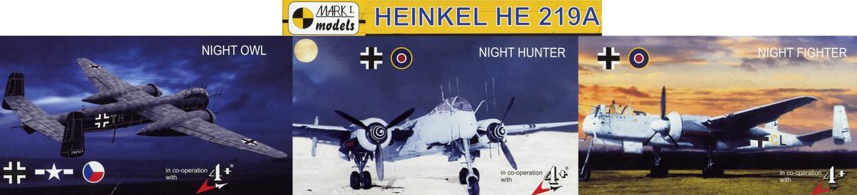 Mark-I-Models-He-219-Kompositbild Heinkel He 219 UHU von Mark I Models im Maßstab 1:144