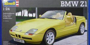 BMW Z1 von Revell im Maßstab 1:24