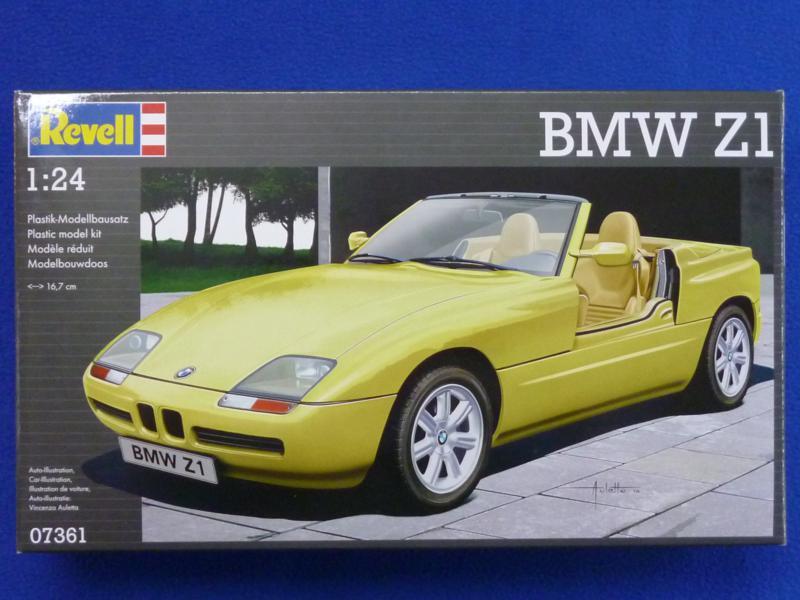 Revell-BMW-Z1-10 BMW Z1 von Revell im Maßstab 1:24