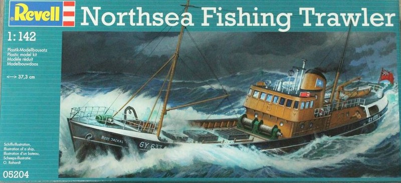 Revell-North-Sea-Fishing-Trawler-5 North Sea Fishing Trawler von Revell (1:142!)