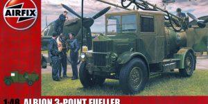 Albion Tankwagen von Airfix in 1:48
