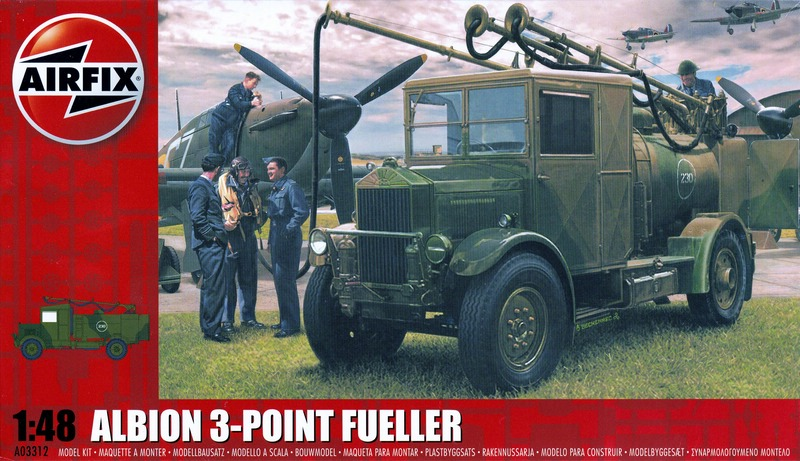 Airfix-Albion-3-point-Refueller-27 75 years Battle of Britain: Albion 3-point refueller (Airfix 1:48)