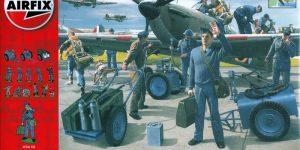 75 years Battle of Britain: RAF Ground Crew (Airfix 1:48)