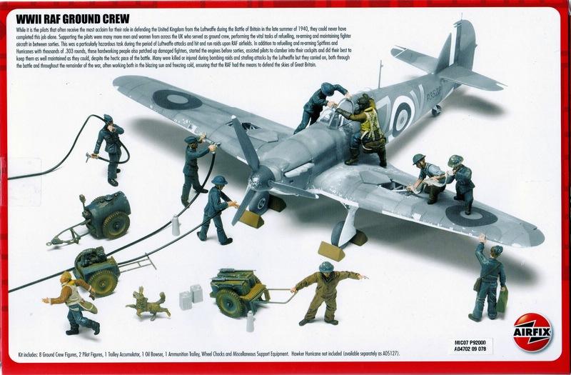 Airfix-WW-II-RAF-Ground-Crew-8 75 years Battle of Britain: RAF Ground Crew (Airfix 1:48)