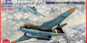 BV P 178 Dive Bomber von Bronco (1:72)