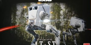 Star Wars AT-ST von Bandai (1:48)