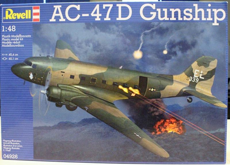 Revell AC-47D (4)