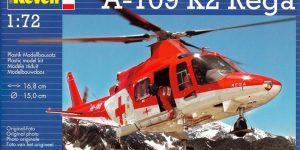 Rettungshubschrauber Augusta A-109K2 der REGA (Revell 1:72)