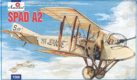 A-Model-SPAD-A.2 15. Juli 1915 - der erste Luftsieg mit einem Fokker Eindecker