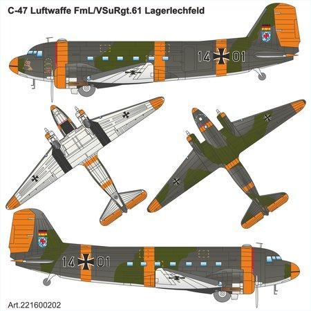 Airpower87-C-47-Luftwaffe-1 Neuheiten von ArsenalM / Airpower87 in 1:87