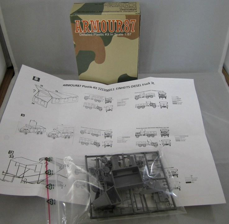 Armour87-Einheitsdiesel-1 Einheitsdiesel von Armour87 im Maßstab 1:87