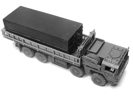 ArsenalM-MAN-FFB-Transporter-13 MAN Faltbrückentransporter (FFB) von ArsenalM im Maßstab 1:87