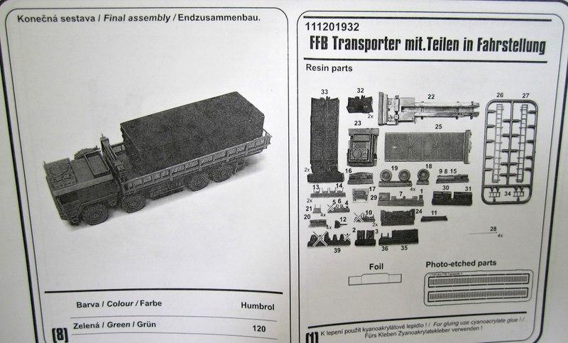 ArsenalM-MAN-FFB-Transporter-2 MAN Faltbrückentransporter (FFB) von ArsenalM im Maßstab 1:87