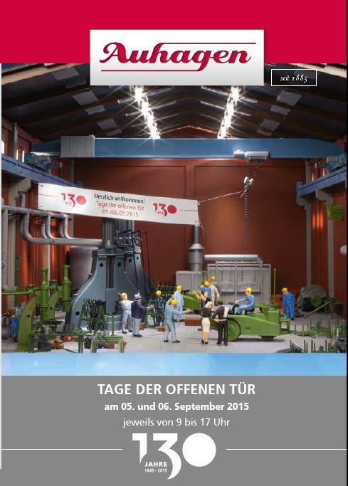 Auhagen-TdoT-2015-2 Tage der offenen Tür bei Auhagen am 5./6. September 2015
