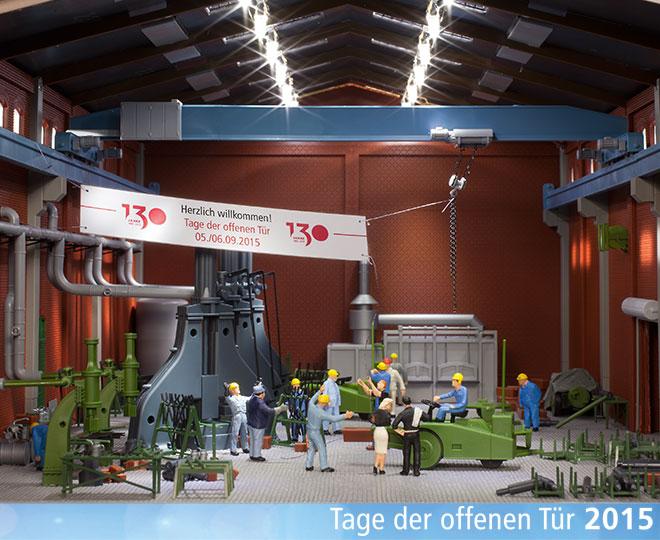 Auhagen-TdoT-2015 Tage der offenen Tür bei Auhagen am 5./6. September 2015