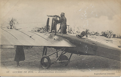 Deperdussin-TT-1914 15. Juli 1915 - der erste Luftsieg mit einem Fokker Eindecker