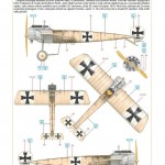 Eduard-8156-Fokker-Eindecker-21-150x150 Fokker E.II / E.III von Eduard im Maßstab 1:48 (8156)