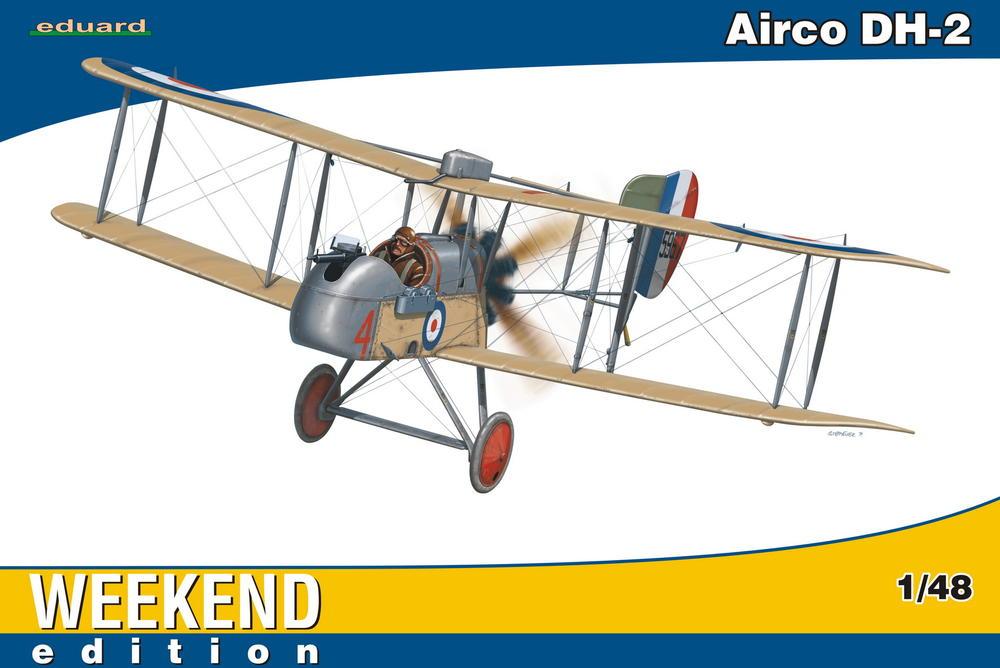 Eduard-Airco-DH-2 15. Juli 1915 - der erste Luftsieg mit einem Fokker Eindecker
