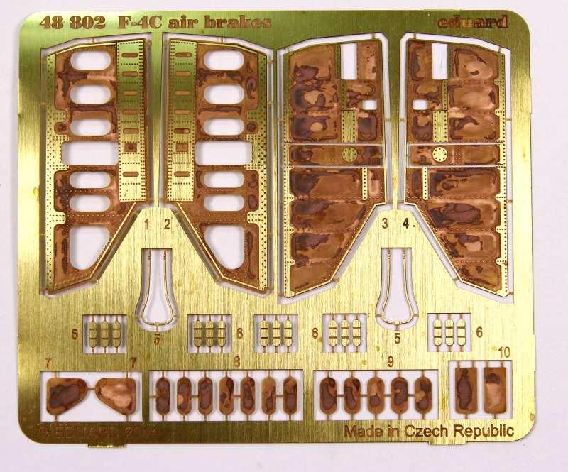 "Eduard-F-4C-Phantom-airbrakes-2 Eduards ""Phantom air-brakes"" in Quarterscale ( 48802)"